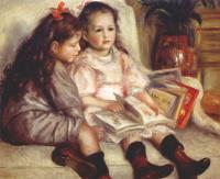 Пьер Огюст Ренуар. Портрет двух детей