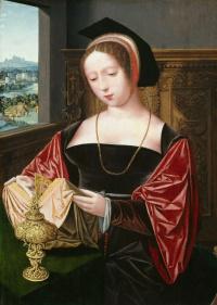 Леди, читающая как Мария Магдалина