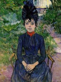 Justine Diel ' in the garden forest