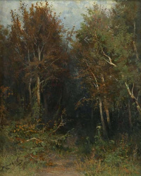 Фёдор Александрович Васильев. В лесу