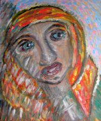Portrait of the burnt