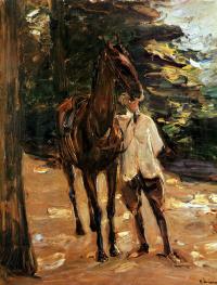 Макс Либерман. Человек с лошадью