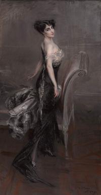 Portrait of a lady. 1912