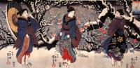 Триптих: Три женщины в зимнем саду