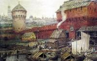 Аполлинарий Михайлович Васнецов. Спасские Водяные ворота Китай-города