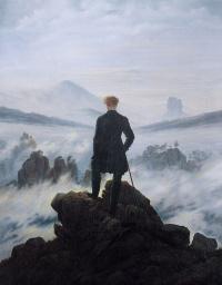 Каспар Давид Фридрих. Странник над туманным морем