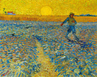 The sower and the sunset