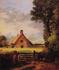 John Constable. House in Cornville