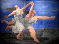 """Пабло Пикассо. Две женщины, бегущие по пляжу (Занавес к балету """"Голубой экспресс"""")"""