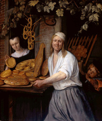 The Leiden Baker arent, Ostwald and his wife Katherine, Kaysersberg