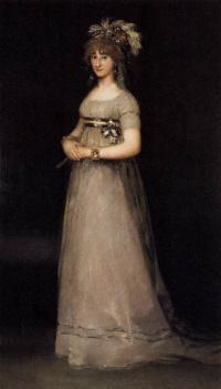 Portrait of Maria Louisa de Bourbon
