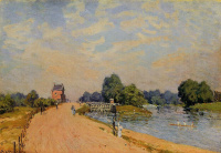 The road from HAMPTON Court