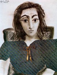 Pablo Picasso. Portrait Of Jacqueline