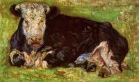 Винсент Ван Гог. Лежащая корова
