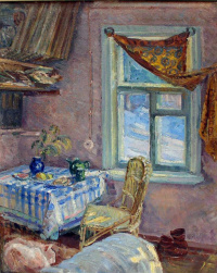 Interior with Ryzhik and shoes