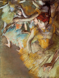 The ballet on the stage