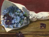 Ева Гонсалес. Букет цветов