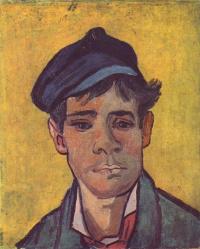 Винсент Ван Гог. Молодой человек в шапке