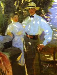 Sun spots. Alexander and George Murashko