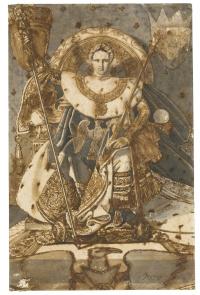Эскиз к портрету Наполеона I