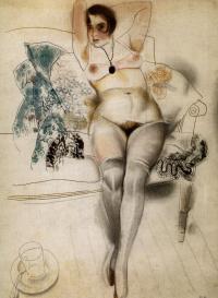 Портрет В. Мотылевой