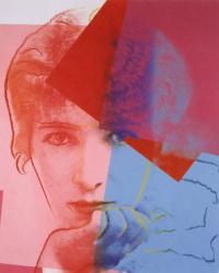 Портрет Сары Бернар из серии «Десять знаменитых евреев XX века»