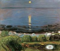 Эдвард Мунк. Летняя ночь на пляже