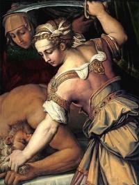 Юдифь и Олоферн, Джорджо Вазари, 1554