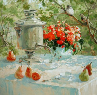 Мария Станиславовна Павлова. Чай для двоих. 2009