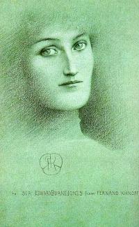 Portrait of a woman. Etude