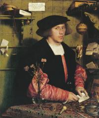 Portrait of the merchant Georg Guissé