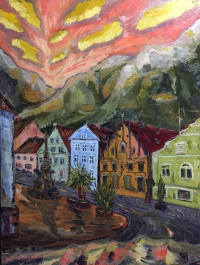 Gala Mell. Воспоминания о Розенхайме.