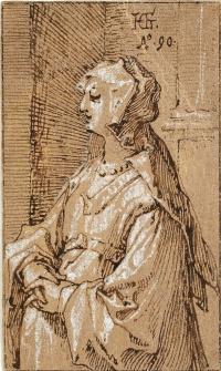 Женщина с вуалью.