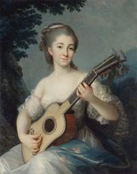 Портрет Мари-Луизы де Робьен