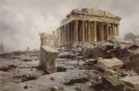 Vasily Dmitrievich Polenov. The Parthenon. The Temple Of Athena Parthenos