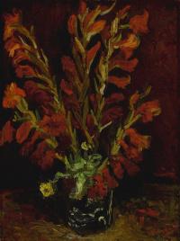 Винсент Ван Гог. Натюрморт: ваза с гладиолусами