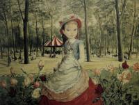 Цугухару Фудзита ( Леонар Фужита ). The girl in the Park