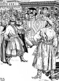 Сцена боя. Иллюстрация к «Песне о купце Калашникове...» Лермонтова