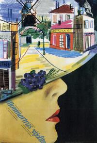"""I. Kalman. """"Violet of Montmartre"""""""