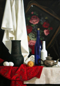 Still life in Russian style