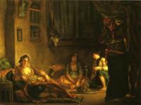 Эжен Делакруа. Алжирские женщины в гареме