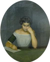 Portrait of Olga Zhdanovich