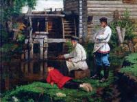 Илья Саввич Галкин. Рыболовы. 1890-е