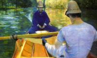 Лодочники на реке Йерр