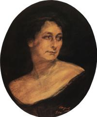Портрет А. М. Стааль