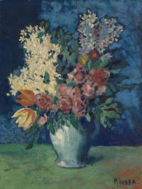 Пабло Пикассо. Цветы