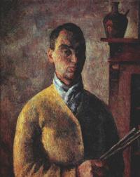 Роберт Рафаилович Фальк. Автопортрет в желтом