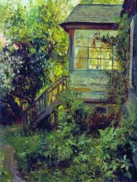Stanislav Yulianovich Zhukovsky. Cottage. Terrace