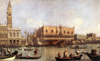Pier at the Cathedral of San Marco