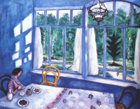 Марк Захарович Шагал. Белла за столом